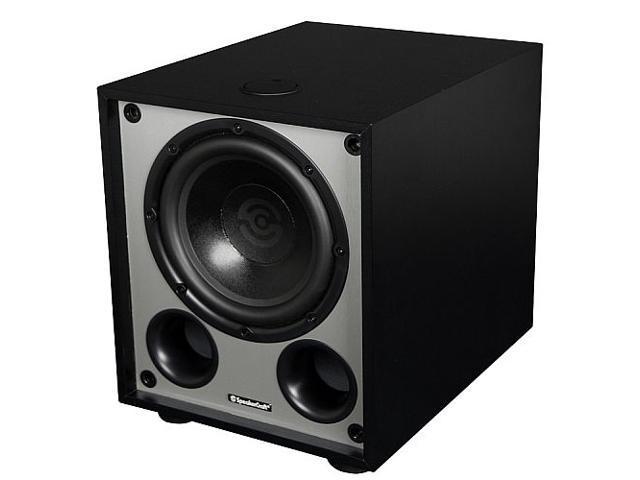 """SpeakerCraft V12 250 Watt 12"""" BassX Powered Subwoofer (Black)"""