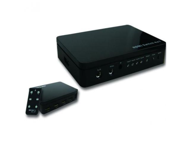 Audio Solutions AS-HDM-4X1SW 4x1 HDMI Switcher