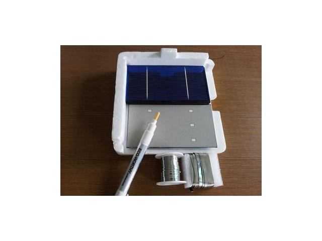 56w 40pcs 3x6 solar cells with kit for diy solar wire