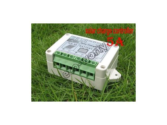 5A solar charge controller, solar power controller with timer and light sensor