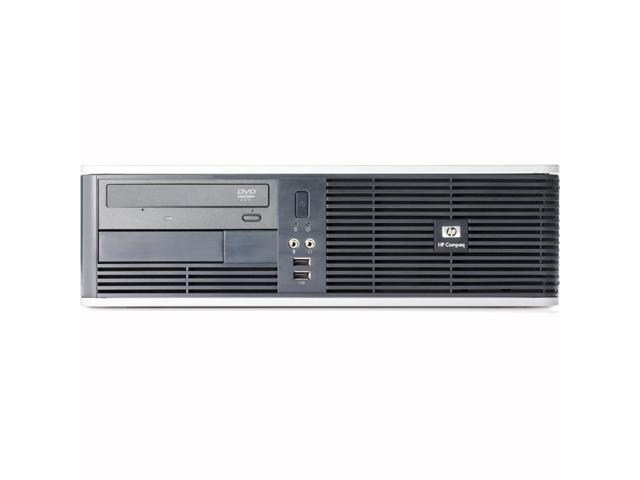 HP DC5750 AMD Sempron 1800 MHz 80Gig HDD 8192mb DVD ROM Windows 7 Professional 64 Bit Desktop Computer