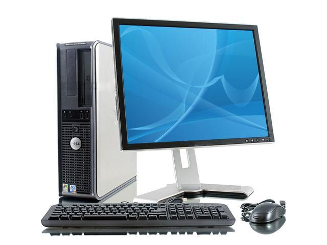 "Dell OptiPlex 745 Intel Core Duo 1600 MHz 400Gig HDD 4096mb DVD ROM Windows 7 Home Premium 32 Bit + 17"" LCD Desktop Computer"