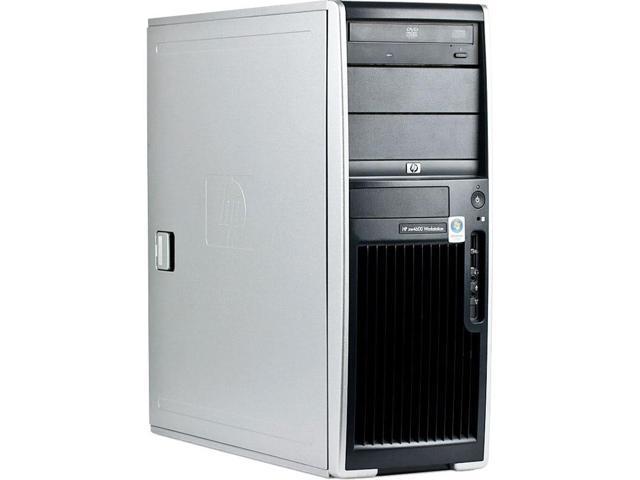 HP XW4600 Intel Core 2 Duo 2500MHz 160Gig 4096mb DVD ROM Windows 7 Professional 32 Bit Desktop Computer