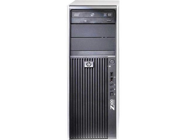 HP Workstation z400 Intel Xeon Quad Core 2670 MHz 1 Terabyte 4096mb DVD-RW Windows 7 Professional 32 Bit Desktop Computer