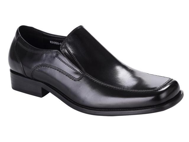 royal wind s cool black genuine leather dress shoes