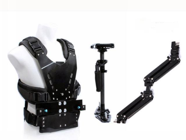 Wieldy 1-7kg Load Carbon Fiber Stabilizer Steadicam Camera Video Steadycam
