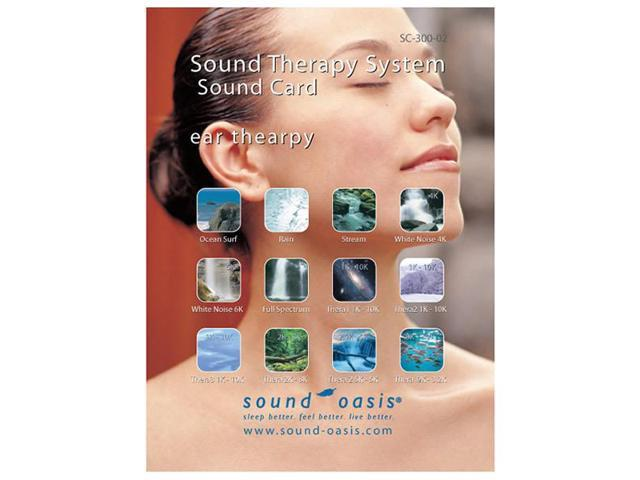 Filter Stream SC-300-02 Sound Oasis Ear Therapy Sound Card