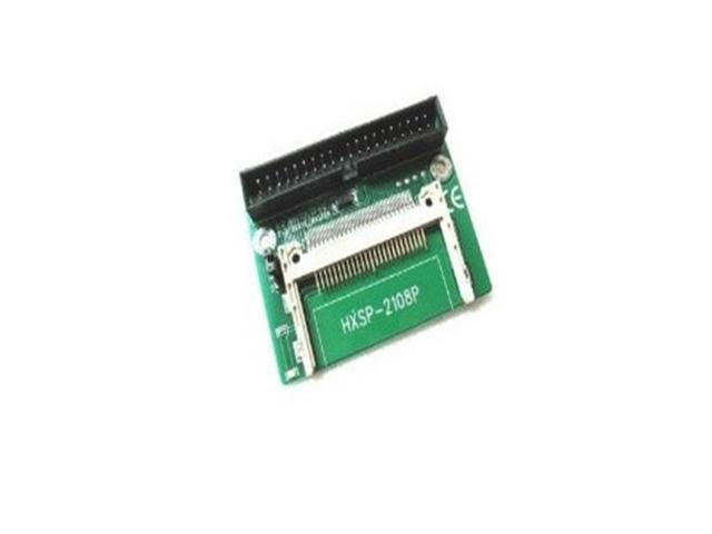 Compact Right Angle CF to IDE 40Pin Male Hard drive adapter card Converter