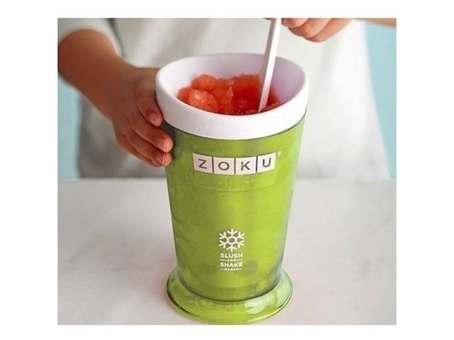 zoku slush shake slushy milkshake maker ice cream machine create frozen drink maker cup smoothie maker - Milkshake Machine
