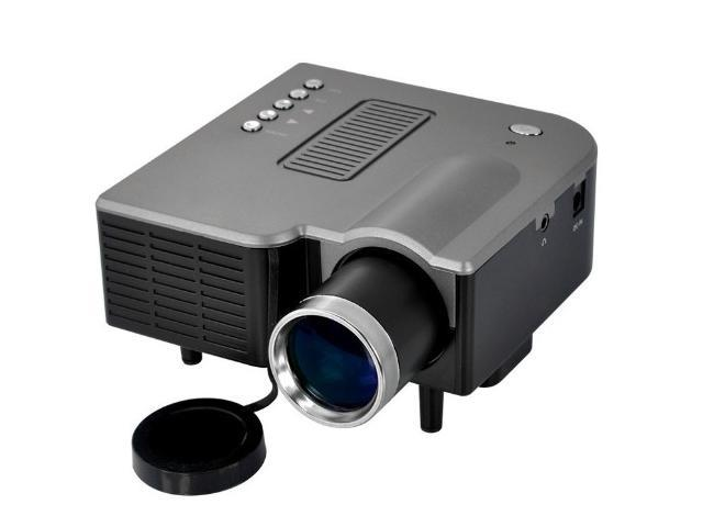 Multimedia Mini LED Projector | Portable Digital Projector for Game Machines, DVD Players