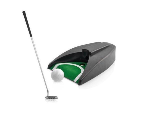 Indoor Golf Set - Ball Return System, Zink Alloy Putter
