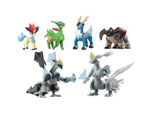 Pokemon Monster Collection Black Kyurem VS White Kyurem 2012 Movie Figure Toy Box Set MC MHP BW Takara Tomy