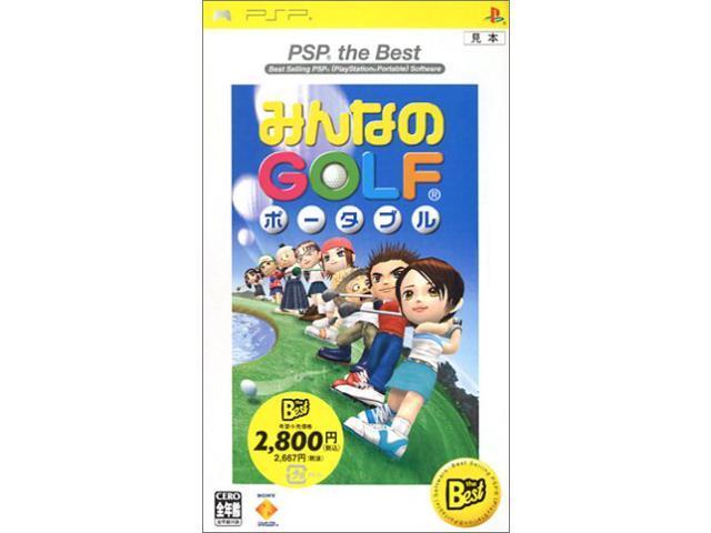 Minna No Golf Portable (PSP the Best) [Japan Import]