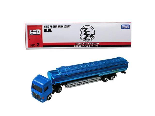[Tomica] event model Long Tomica (No.2) Hino Profia tanker (Blue) Hiroshi TOMY Tomica Tomy 130 428 (japan import)