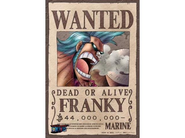 One Piece Franky Wanted Poster Puzzle 150 Piece - Newegg.com