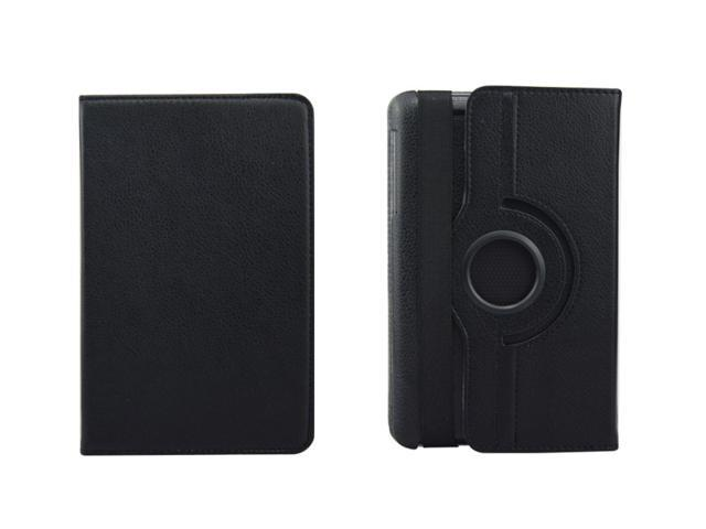360 Rotating PU Leather Case Cover + LCD Film + Stylus For Google Nexus 7 1st Generation Black