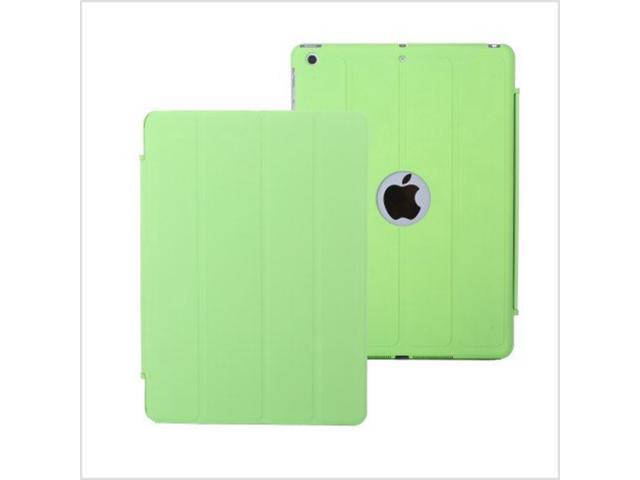4 Folded Ultra Slim Flip PU Leather case Cover for Apple iPad air iPad 5 Green