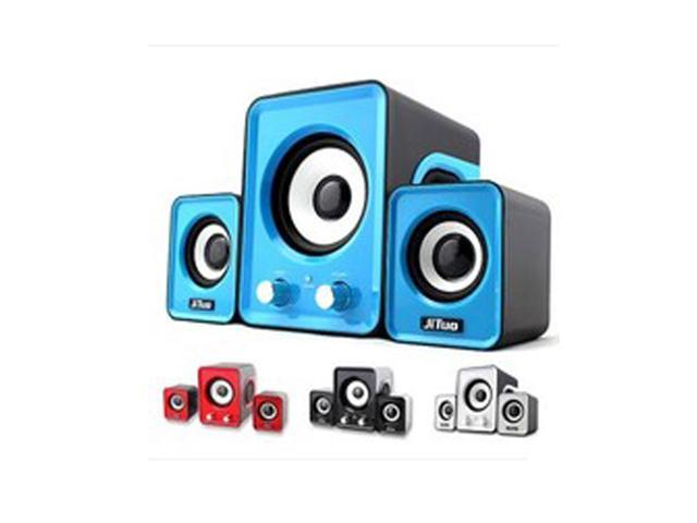 Hot Computer High Quality Small Speaker 2.1 Multimedia Mini Stereo Notebook Portable USB Subwoofer