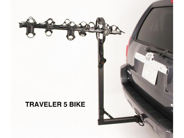 Hollywood Racks HR9200 Traveler 5-Bike Hitch Mount Rack (2-Inch Receiver)