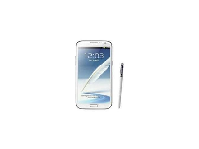 Samsung Galaxy Note II GT-N7100 - factory unlocked- 16GB White