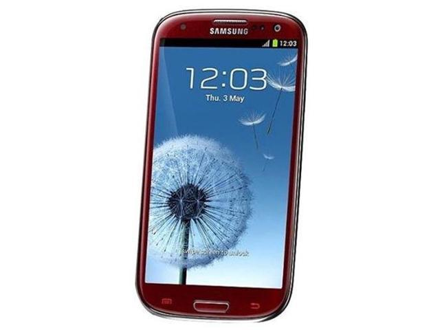 Samsung Galaxy SIII GT-i9300 16GB - Unlocked - Red (International Version)