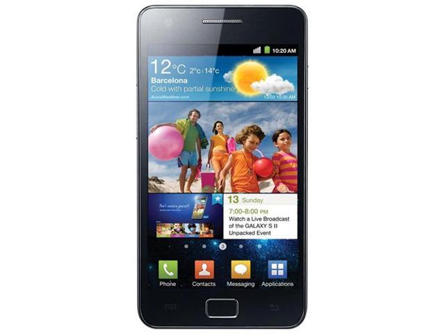 Samsung Galaxy S II Black 3G Unlocked GSM Smartphone w/ 8 MP Camera/Android OS/16GB Internal Memory (i9100)