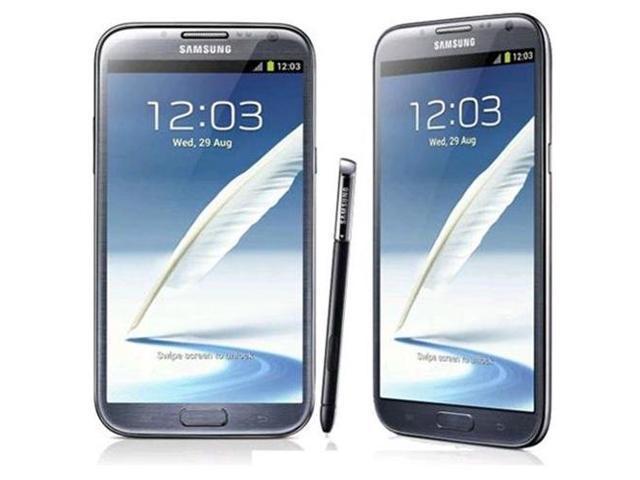 Samsung Galaxy Note II GT-N7100 - factory unlocked- 16GB Gray