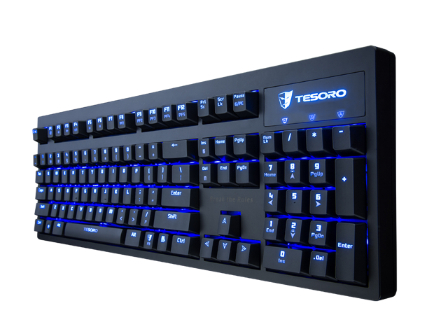 Tesoro Excalibur G7nl Backlit Mechanical Gaming Keyboard W