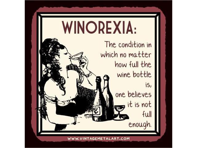 Winorexia Mini Vintage Tin Sign