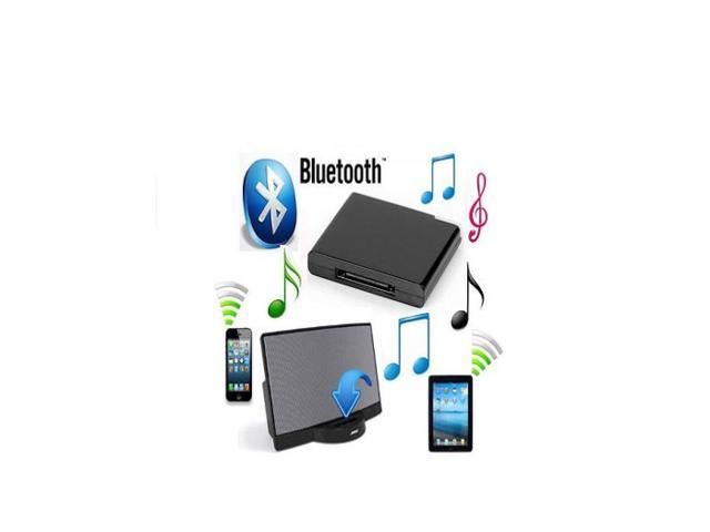 Wireless Bluetooth Music Receiver Adapter for iPhone iPad iPod Dock Car Stereo