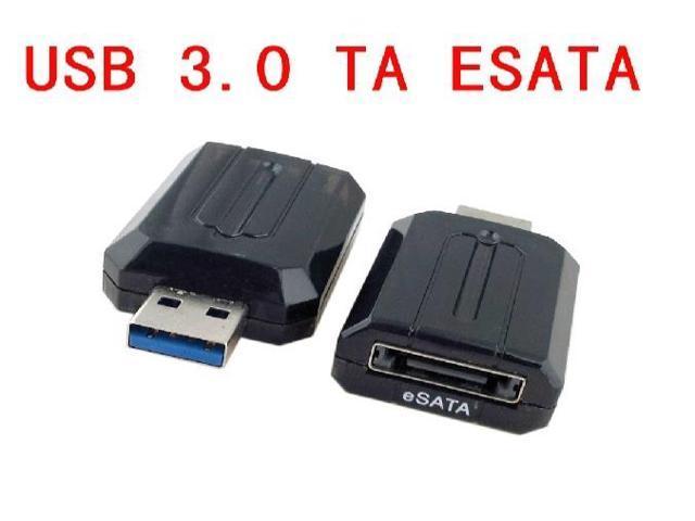 USB 3.0 2.0 to eSATA External Bridge Adapter Converter 5Gbps for Laptop