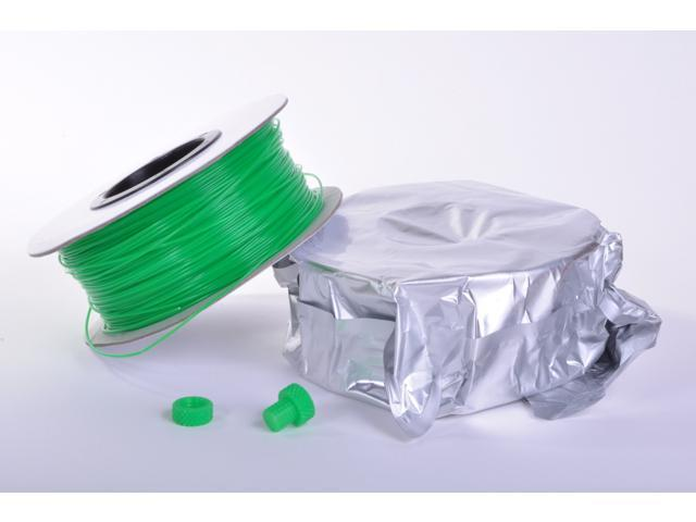 Zen Toolworks 3D Printer 1.75mm Green PLA Filament 1kg (2.2 lbs) Spool