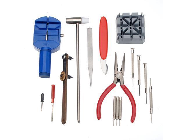 16-Piece Watch Repair Tool Kit
