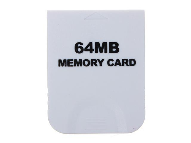 128MB 128M Game Memory Card For NINTENDO WII GameCube Console GC White