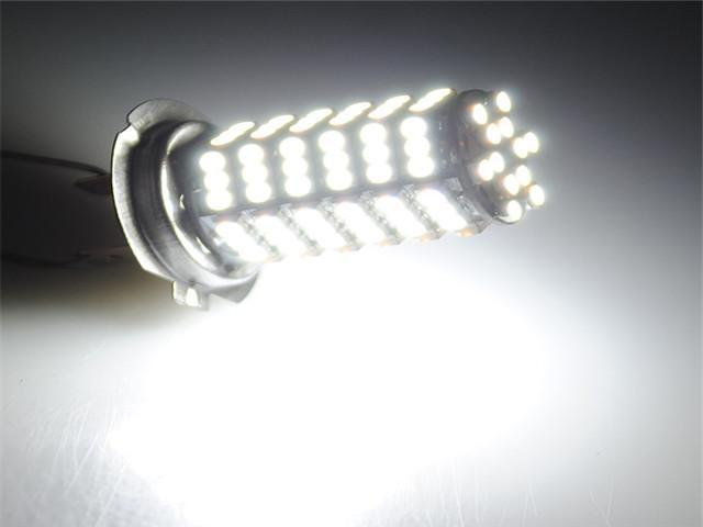 2pcs  Car Auto 120 LED 3528 SMD H7 Xenon White Fog Driving Head Light Lamp Bulb 12V