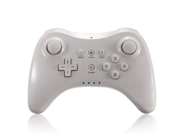 white dual analog game wireless controller gamepad joypad. Black Bedroom Furniture Sets. Home Design Ideas