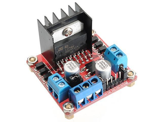 Dual H Bridge DC Stepper Motor Drive Controller Board Module Arduino L298N #236