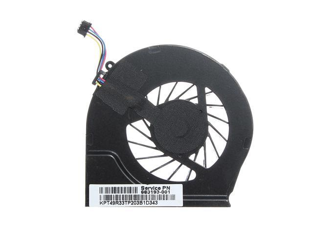 NEW CPU Cooling Fan 0.5A For HP PAVILION G7-2000 G6-2278DX 683193-001 685477-001