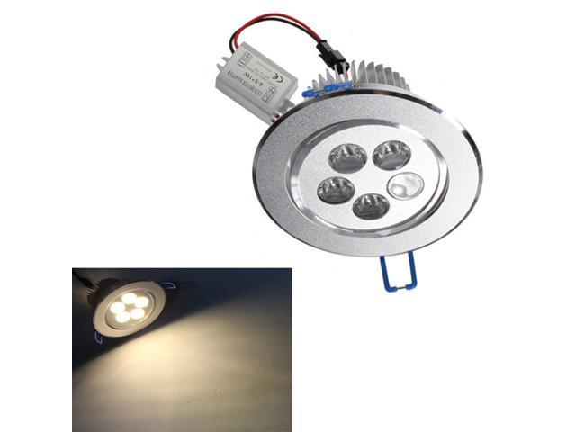 LED Ceiling Down Light Cabinet Recessed Fixture Lamp Kit AC85-265V Warm White 5W