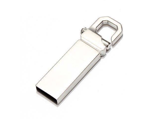 1/2/4/8/16G 32GB Clip Metal USB Flash Drive Memory Thumb Keychain Stick Lock Pen - OEM