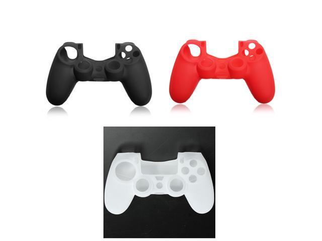 3PCS Silicone Case Rubber Soft Gel Skin Cover Shell For Sony Playstation 4 PS4 Controller