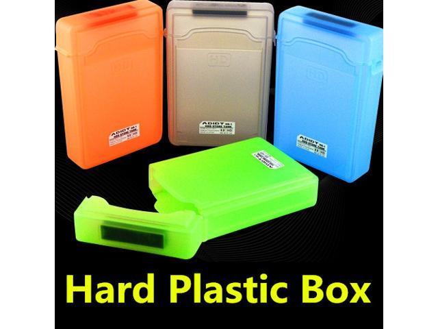 """4 pcs 3.5"""" Portable IDE SATA Hard Disk Drive HDD Protection Storage Case Box Enclosure"""