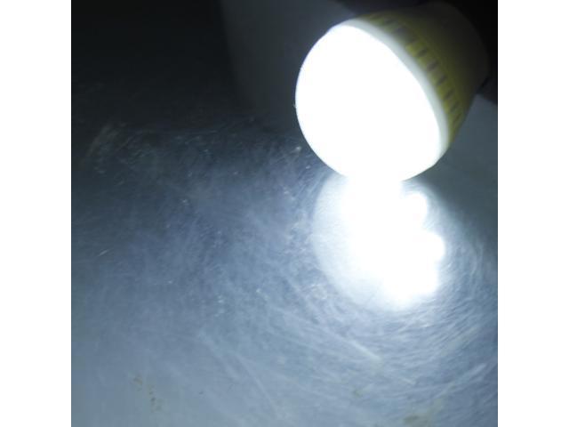 E27 Medium Base 3.5W SMD 5050 LED Light Bulb Lamp Pure White 110-240V