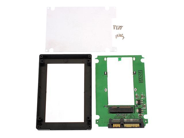 mSATA Mini PCI-E SSD to 2.5