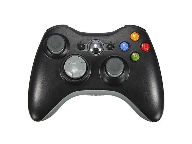 2.4GHz Black Wireless Remote Shock Game pad Gamepad Joypad Controller for Microsoft Xbox 360 Xbox360