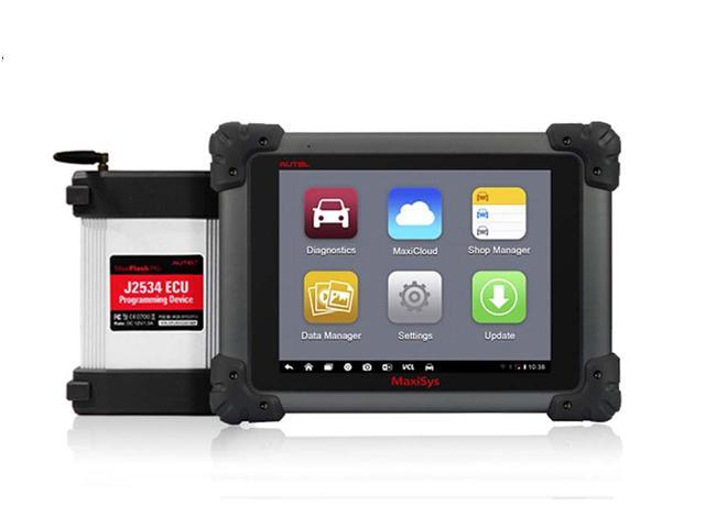 Autel Maxisys Pro MS908P Smart Vehicle Diagnostics and ECU Programming System with Bluetooth / WIFI Wireless Android Diagnostic ...