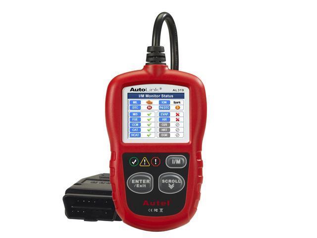 Autel AutoLink® AL319 Next Generation OBD II/EOBD Code Reader Reads and displays Diagnostic Trouble Codes (DTCs)