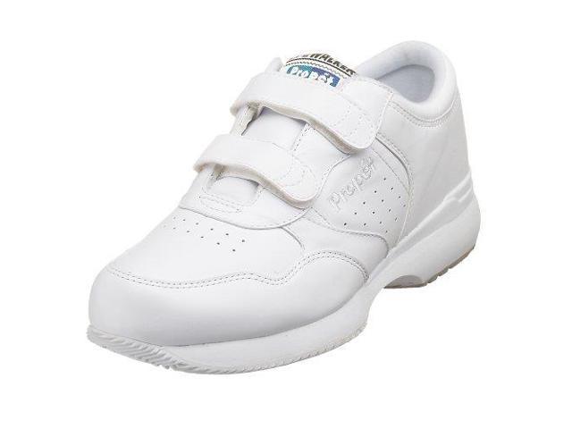 Propet Life Walker Strap - mens Sport White