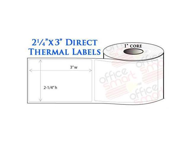 20 Rolls 2.25x3 Direct Thermal Labels for Zebra LP2824 ...