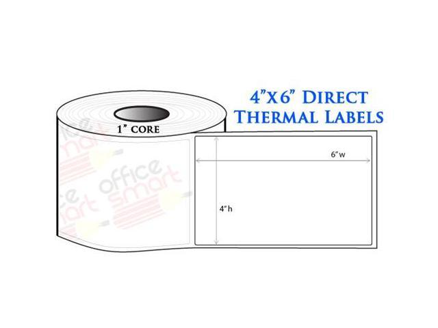 10 Rolls 4x6 Direct Thermal Labels for Zebra GC420d GC420t ...